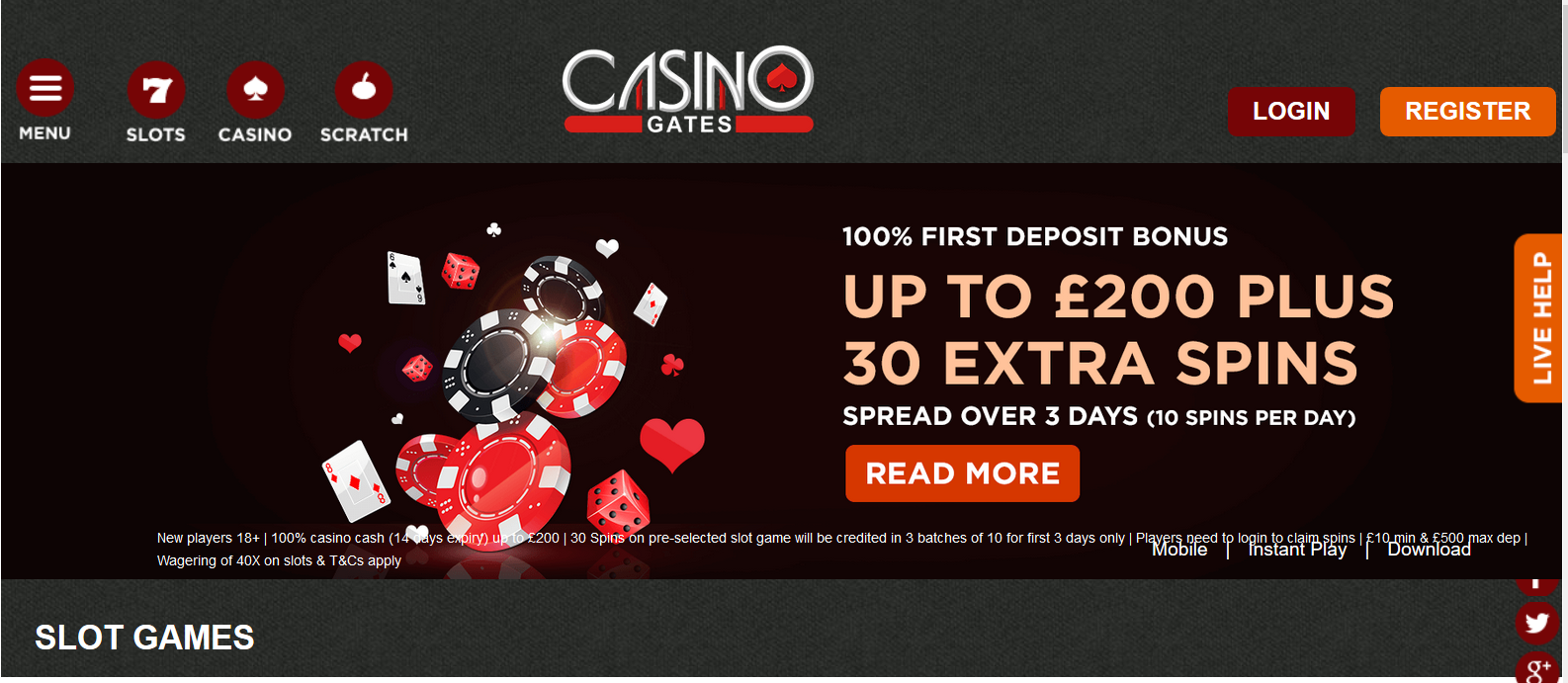 UK Bingo and Casino Games - Casino Gates