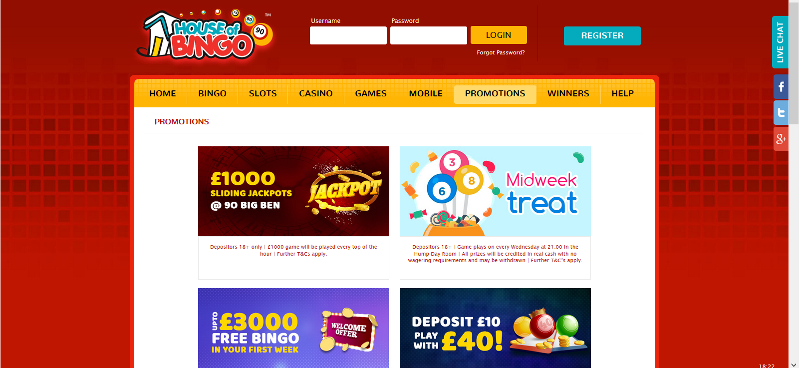 UK Bingo and Casino Games - House of Bingo