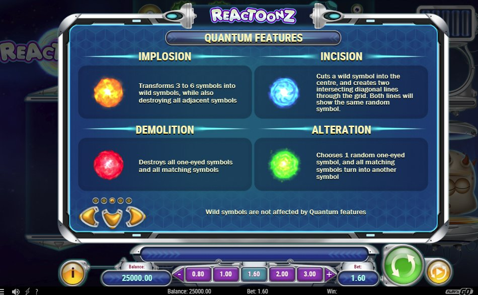 Play Reactoonz For Free