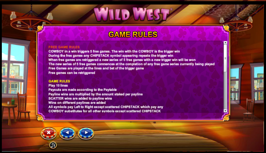 Play Wild West Slot Free