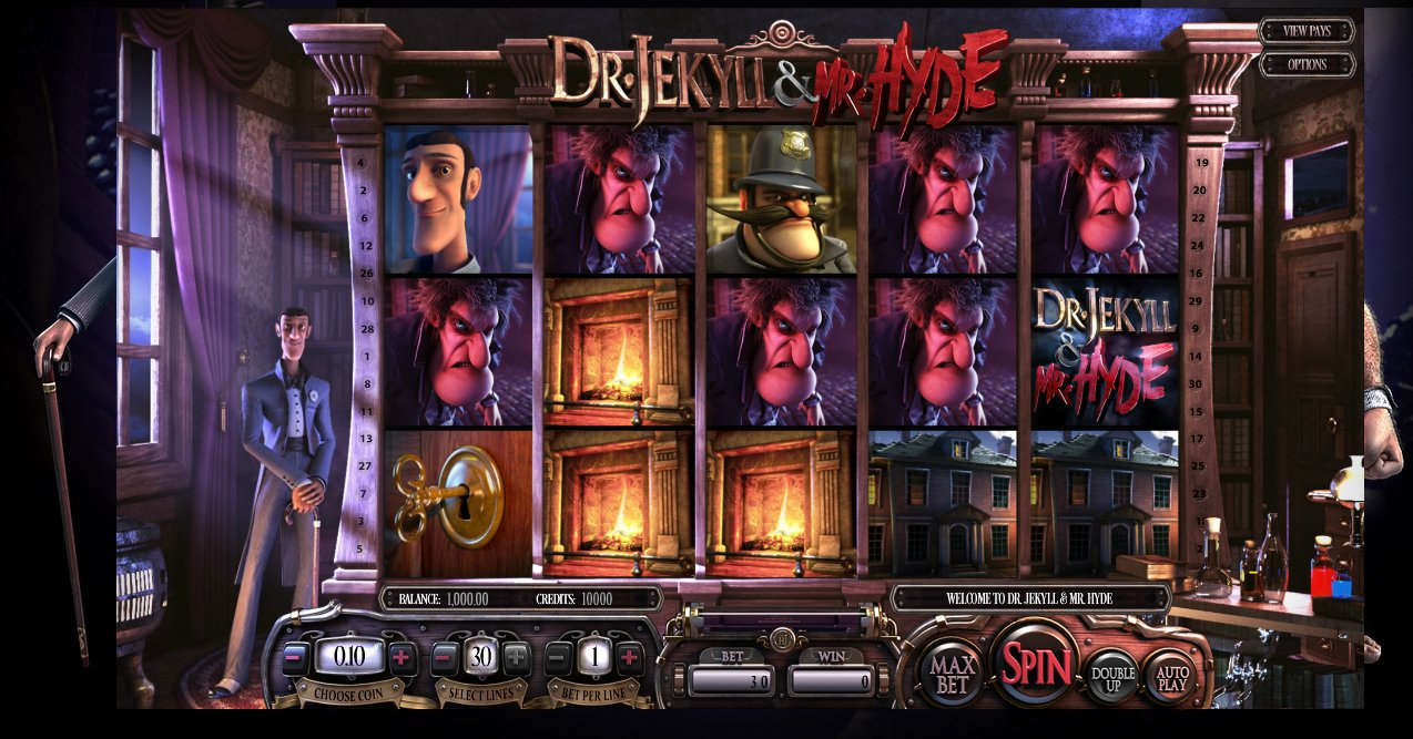 Dr Jekyll and Mr Hyde Slot - Online Slot Machines