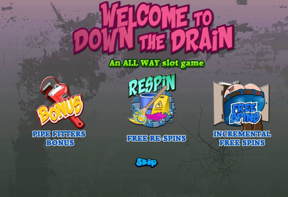Down The Drain Game